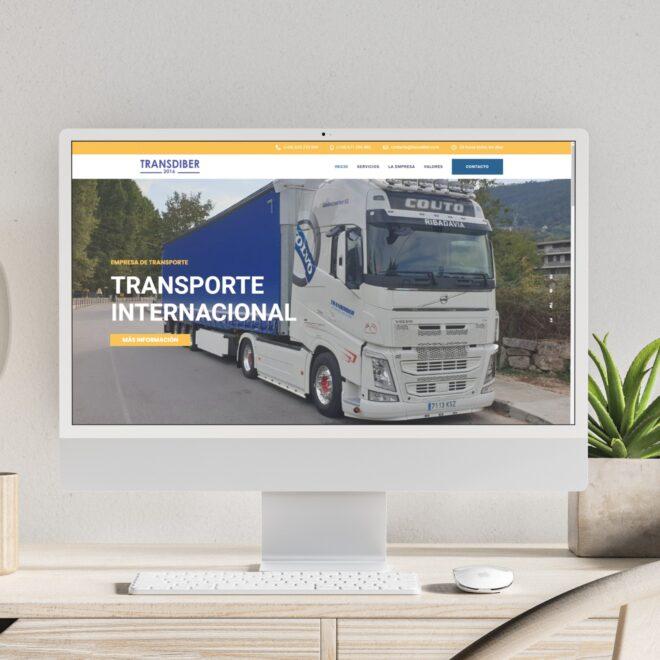 web galicia transporte camiones